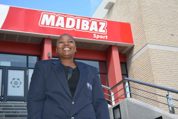 Former Sascoc national academies manager Yoliswa Lumka has been appointed as director of Madibaz Sport at NMMU. Photo: Full Stop Communications