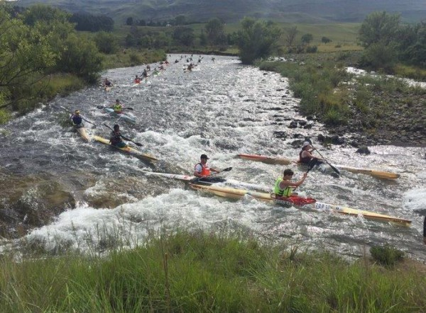 Participants making their way to the finish at the 2016 annual Drak Challenge. Photo: /twitter.com/DrakChallenge
