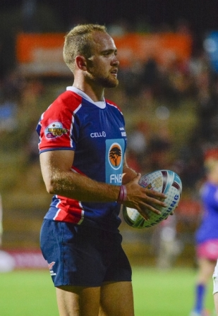 NMMU-Madibaz skipper Ivan Ludick will be asking for a team effort against UCT. Photo: Saspa