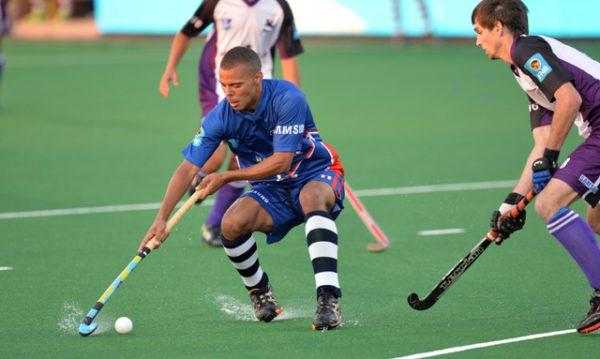 Senior Madibaz player Ignatius Malgraff will play a key role in the Varsity Hockey tournament that starts in Johannesburg on Friday. Photo: Saspa