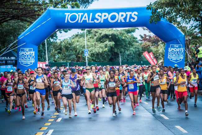 The Totalsports Women's Race route will showcase the beauty of the Mother City on National Women's Day.  Photo: Tobias Ginsberg