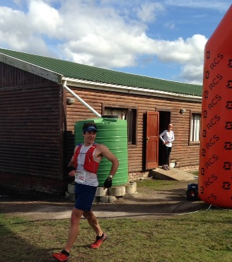 Christiaan Grey won The Sox Trail Run in Wilderness today. Photo: twitter.com/SOXTrailRun
