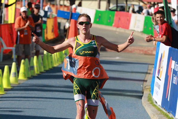 Elite Athlete Development Programme triathlete Henri Schoeman claimed bronze in the Men's Triathlon at the Rio Olympic Games. Photo: Supplied