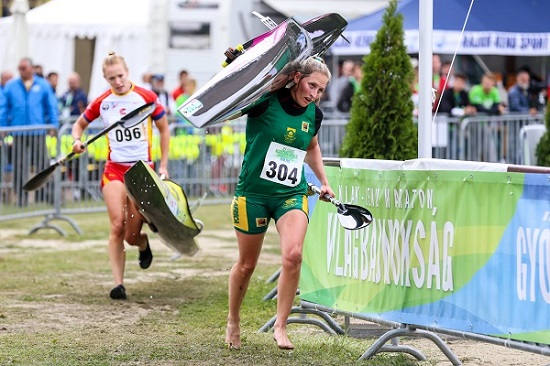 With two U23 K1 bronze medals to her name, Euro Steel's Jenna Ward will be hoping she can push on to higher honours in her final year in the age category at the World Championships. Photo: Balint Vekassy