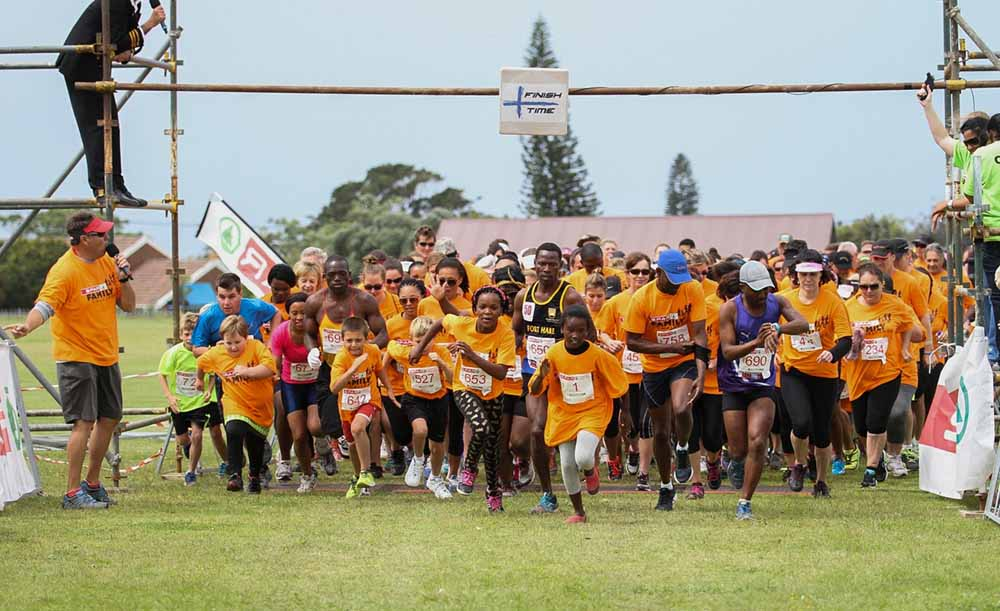 Participants in this year's SPAR Family Challenge in East London can look forward to several changes. Photo: Supplied