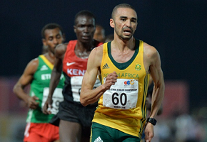 Olympian Elroy Gelant will talk about the athlete's perspective at the third Provincial Conference on Sport from September 30 to October 1 at NMMU's George campus. Photo: Supplied