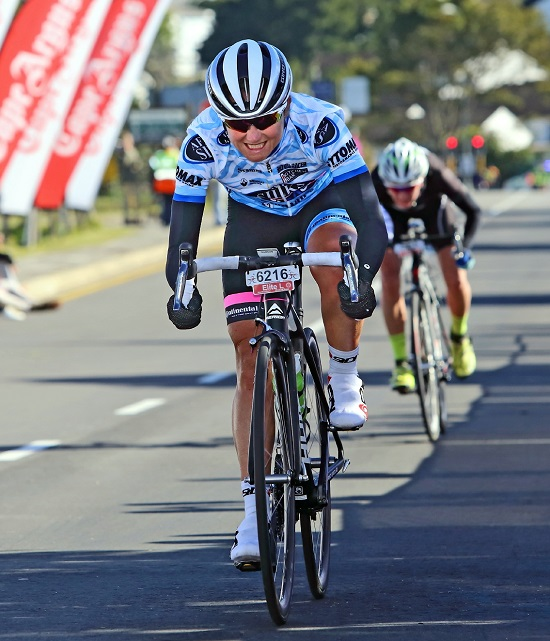 Port Elizabeth's former champion Anriette Schoeman will link up with Team Bestmed-ASG at the 947 Cycle Challenge in Johannesburg on Sunday. Photo: Supplied