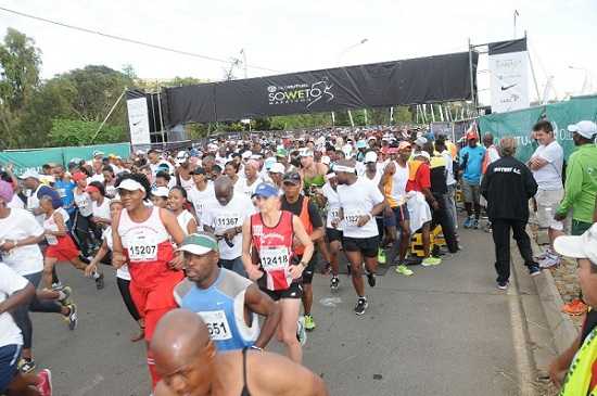 The Soweto Marathon route will honour the establishment's rich history when the event takes place on November 6. Photo: Jetline Action Photo