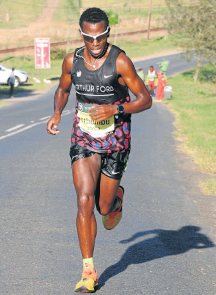 Results Local Hero Bongmusa Mthembu Wins Comrades Marathon