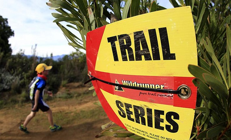 Gauteng Winter Trail Series action
