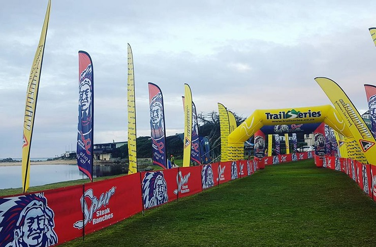 The fourth leg of the Cape Winter Trail Series took place in Kleinmond, Western Cape, today.