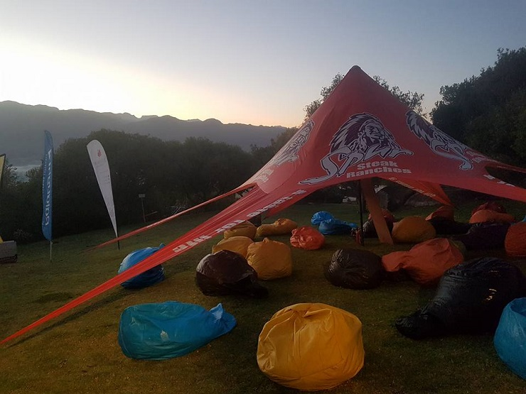The third leg of the Cape Winter Trail Series took place at the Taal Monument in Paarl today.