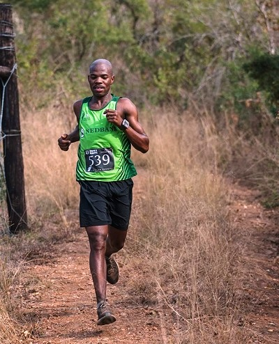 Eric Ngubane won the 1000 Hills Challenge.