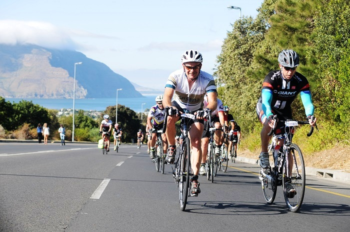 Cancer survivor Hendrik Theron (left) will be giving back when he rides the 20th Bestmed Cycle4Cansa Championship this weekend.