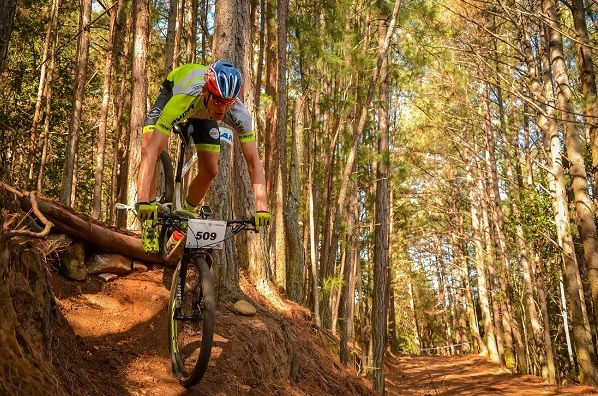 It was a family affair at the third round of the Madibaz XCO Series as brothers Matthys (pictured) and Gerrie Beukes won their age categories on Sunday.