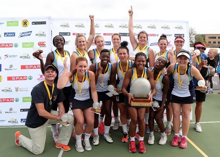 Gauteng were crowned the new SPAR National Netball Championships after they beat Western Cape in the final today.