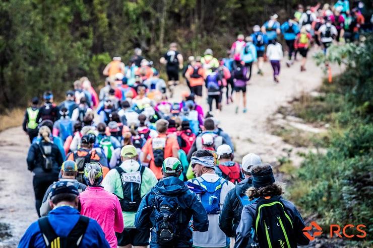 Sox Trail Run athletes