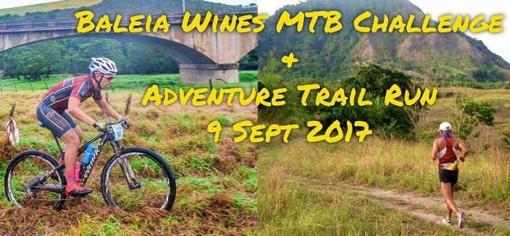 The Baleia Wines MTB Challenge & Adventure Trail Run took place this weekend.