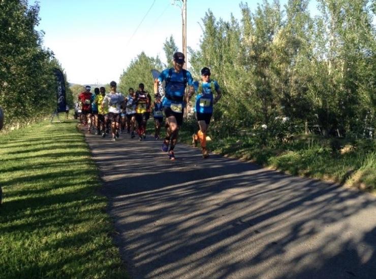 Runners in action during a previous year's La Capra Goat Run. Photo: Facebook/La Capra Wine