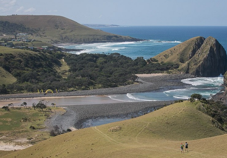 Some of the Wildcoast Wildrun participants in action during day three of the event.