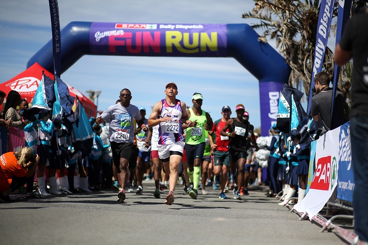 Thousands of runners enjoyed the chance to get some exercise in the Daily Dispatch Summer Fun Run, supported by SPAR Eastern Cape, in East London on Saturday.