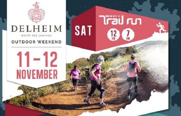 The Delheim Trail Run took place at the Delheim Wine Estate, just outside Stellenbosch, today.