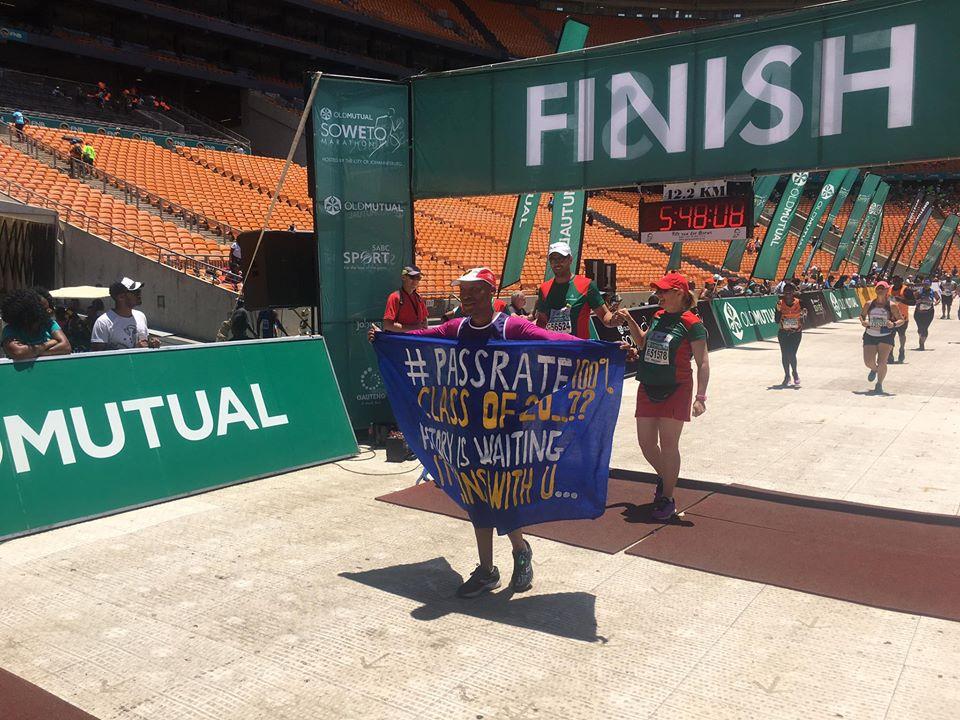 Soweto Marathon finisher