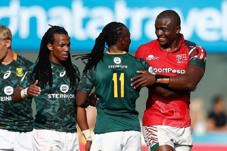 South Africa topped Pool A unbeaten on day one. Photo: World Rugby.