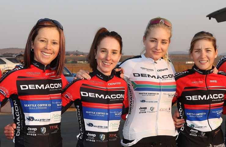 Demacon womens cycling team