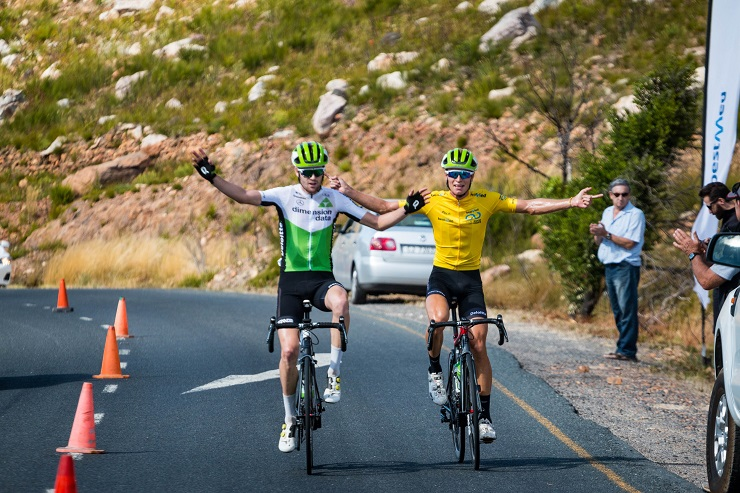 Kent Main, Stefan de Bod at Bestmed Tour of Good Hope