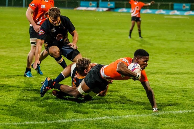UJ Rugby Siyabonga Luwaca