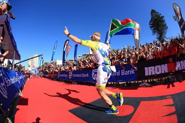Kyle Buckingham wins Ironman African Championship