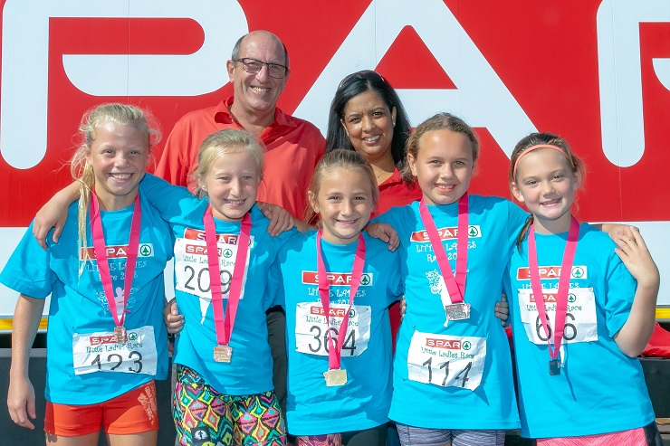 SPAR Little Ladies race
