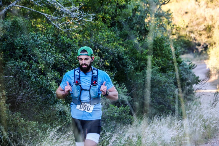 Christopher O'linsky day one Great Zuurberg Trail Run