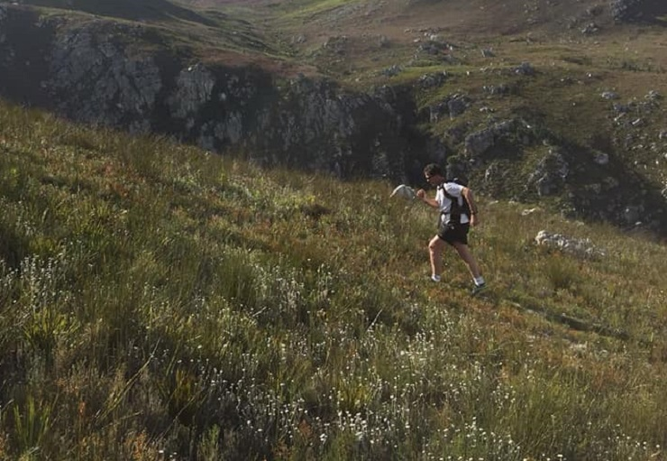 Rohan Meyer and Cana Peek won the 15.6km opening round of the Cape Winter Trail Series, which took place at the Paul Cluver Wine Estate yesterday. Photo: Facebook/Trail Series