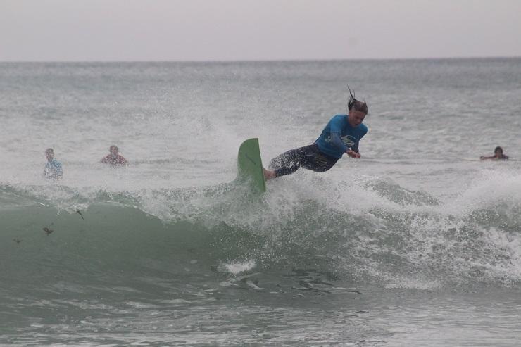 Greg Cuthbert Madibaz surfing
