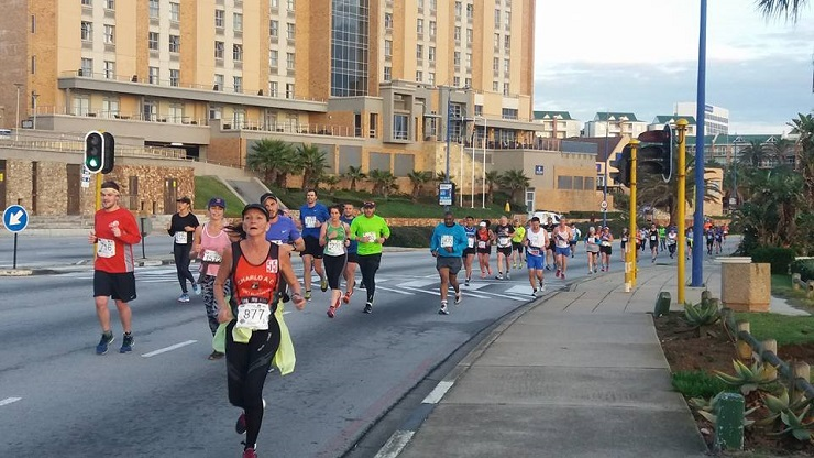 Runners in action during the ASA Half Marathon Championships