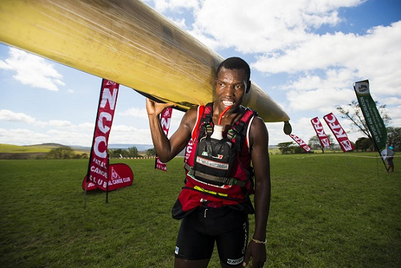 Build it/Williams Hunt's Thulani Mbanjwa got his Dusi Canoe Marathon paddling preparations back on track with a solid fifth place finish at the recent N3TC Drak Challenge in Underberg.