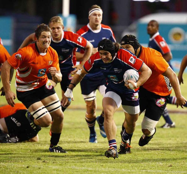 Loose forward CJ Velleman will step in as vice-captain and play a crucial leadership role as the Madibaz head into their 2016 Varsity Cup campaign. Photo: Saspa