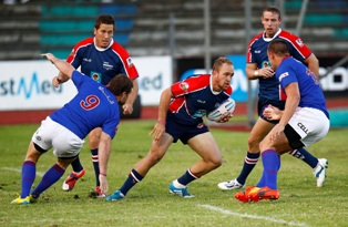 Scrumhalf Ivan Ludick will be leading the Madibaz onto the field during their 2016 Varsity Cup rugby campaign. Photo: Full Stop Communication