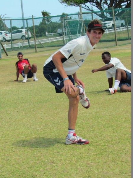 Mecer NMMU-Madibaz captain Lloyd Brown pictured at a training session. Photo: Supplied