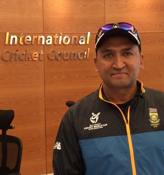 NMMU sports administrator Riaan Osman managed the SA U19 cricket team at the ICC U19 World Cup in Bangladesh. Photo: Supplied