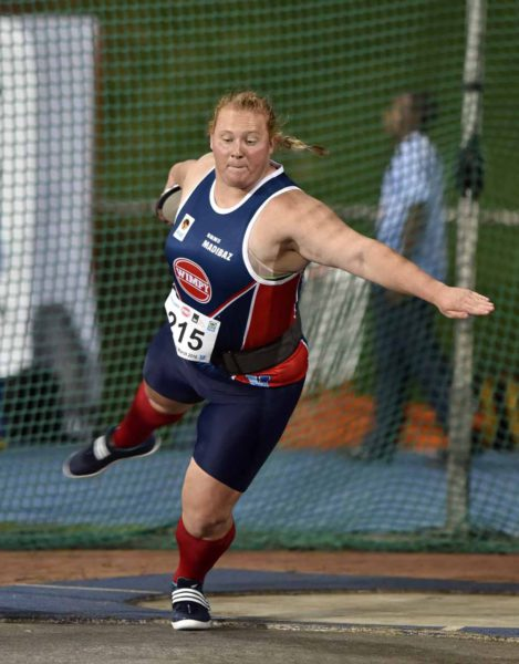 Ischke Senekal, leading NMMU-Madibaz field athlete, is ready for the University Sport South Africa (USSA) athletics championships that will be held in Polokwane this weekend. Photo: Supplied