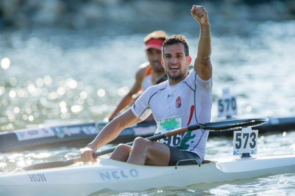 Hungarian K2 world champ Adrian Boros has added his name to the entry for the Berg River Canoe Marathon. Photo: Supplied