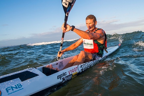 Hank McGregor has his sights firmly set on clinching a maiden Durban Downwind title. Photo: Anthony Grote
