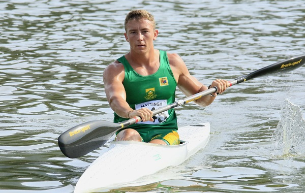 Louis Hattingh will lead the South African team when he takes part in the U23 100m K1 race at the ICF Junior and U23 Canoe Sprint World Championships in Minsk. Photo: Lynne Hauptfleisch
