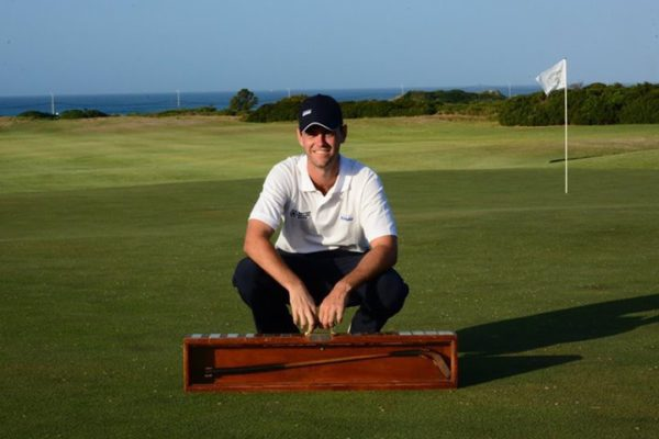 KPMG NMMU player Luke Jerling captured the individual strokeplay title at the University Sport South Africa golf tournament at Humewood in Port Elizabeth last week. Photo: Supplied