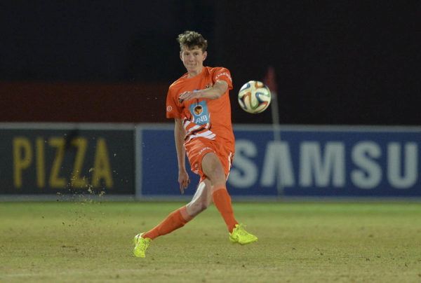 Matthew Edwards will have an important role to play for the University of Johannesburg in the Varsity Football tournament that starts on July 18. Photo: Saspa
