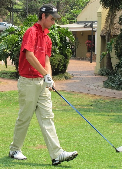 Madibaz golfer Luke Jerling captured his second title in the Humewood Silver Salver tournament on Sunday. Photo: Supplied