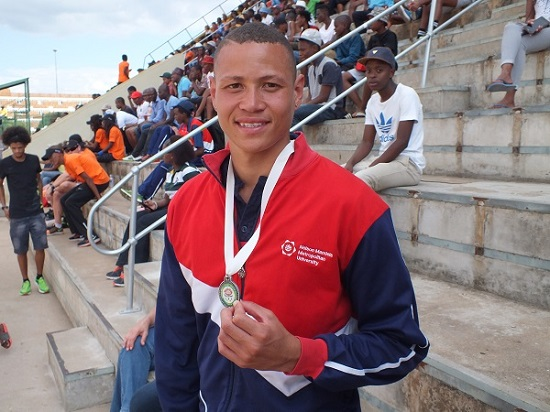 Talented Madibaz high jumper Garth Ellis is set to benefit from the Bestmed sponsorship. Photo: Supplied